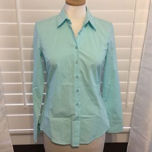 Boston Proper Button Down Blouse NWOT - Sz 0
